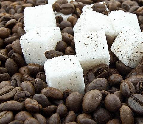 Кофейная настойка с сахаром