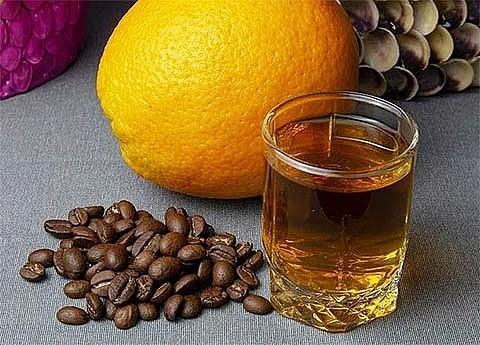 Кофейно-цитрусовая настойка